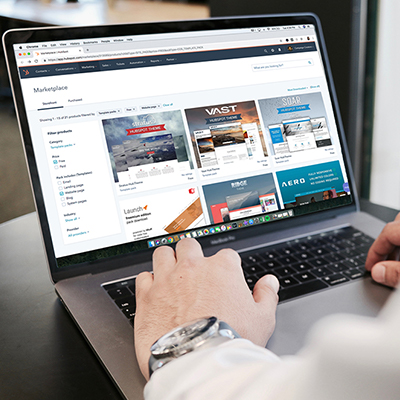 Downloading content from trusted websites